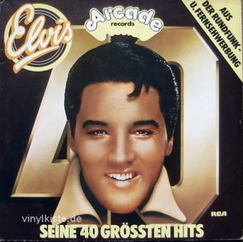 Bild 1: Elvis Presley, Seine 40 grössten Hits