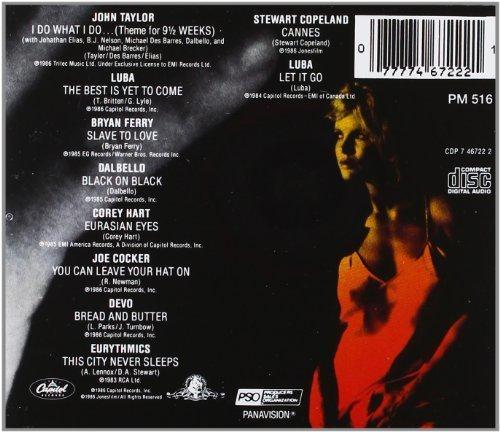 Bild 2: 9 1/2 Weeks (1986), Joe Cocker, Eurythmics, Bryan Ferry..