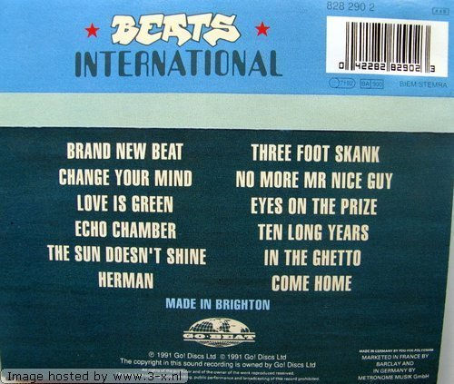 Фото 3: Beats International, Excursion on the version (1991)