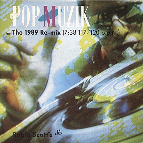 """Bild 2: M, Pop muzik (1989 Re-Mix/Freestyle 1989 Dub-Mix/Orig. 1979 12"""" Release)"""