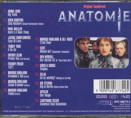 Bild 2: Anatomie (2000), Anna Loos, Sofa Surfers, Paul Weller..