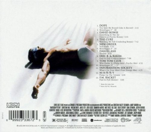 Bild 2: American Psycho (2000), David Bowie, Cure, New Order..