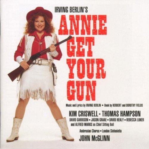 Bild 1: Annie get your Gun (Irving Berlin, 1991), Kim Criswell, Thomas Hampson..)