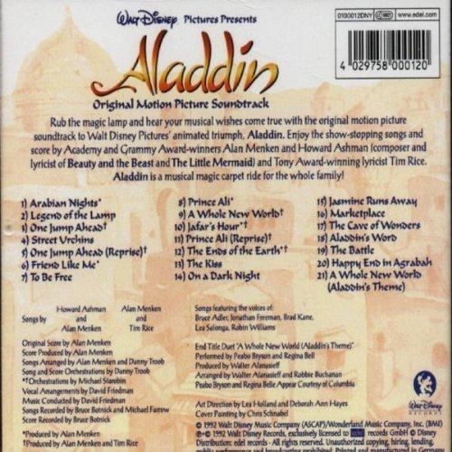 Bild 2: Aladdin (Walt Disney, 1992), Alan Menken, Howard Ashman, Tim Rice, Belle/Bryson