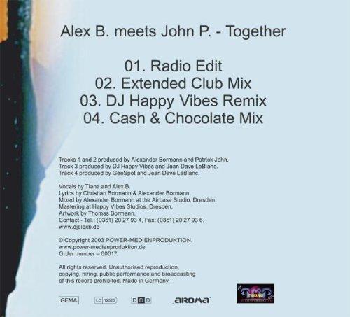 Bild 2: Alex B. meets John P., Together (2003)