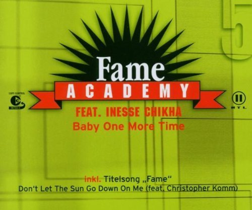 Bild 1: Fame Academy (RTL 2; 2003), Baby one more time (feat. Inesse Chikha)