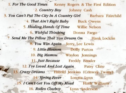 Фото 2: Country Legends for the Good Times, Kenny Rogers, Johnny Cash, Barbara FAirchild, Buck Owens, Willie Nelson..