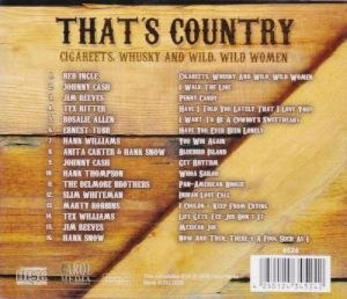 Фото 2: That's Country (2008), Red Ingle, Johnny Cash, Jim Reeves, Tex Ritter, Ernest Tubb..