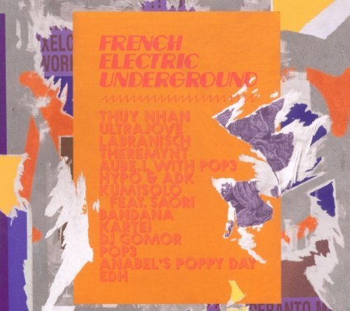 Фото 1: French Electric Underground (2011, digi), Thuy Nhan, Ultrajove, Labranisch, Theremynt..